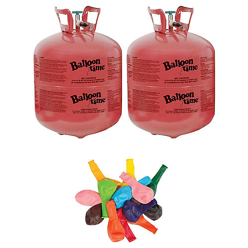 Helium Tanks & Helium Tank Kits | Party City