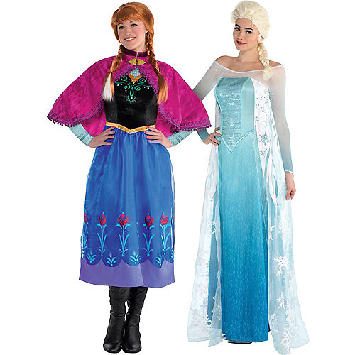 Anna Elsa S Costumes Frozen