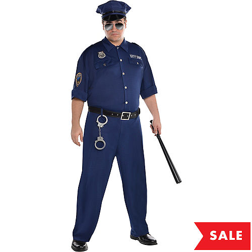 Police costumes sexy cop costumes for women party city adult on patrol police costume plus size solutioingenieria Images