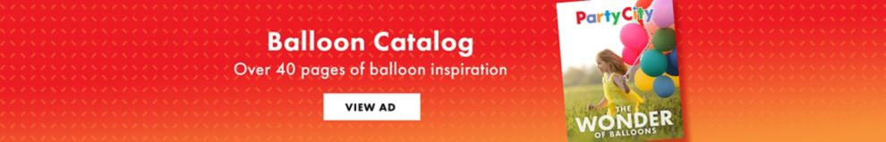 View our balloon catalog, over 40 pages of balloon inspiration.