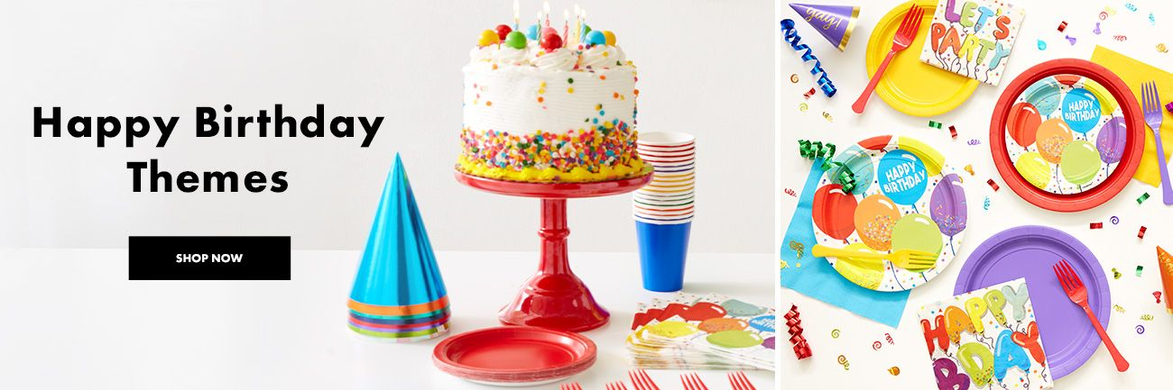 Outstanding Birthday Party Supplies Party City Funny Birthday Cards Online Alyptdamsfinfo