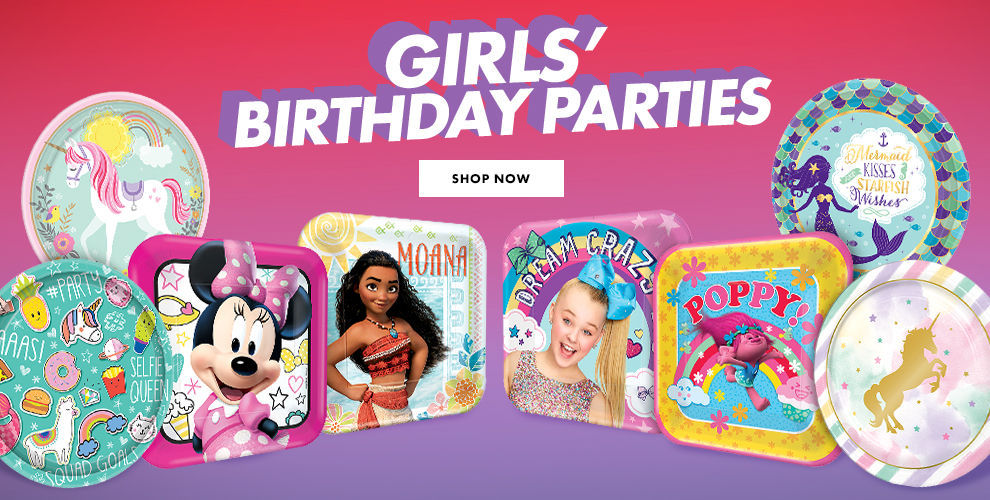 New Girls' Birthday Party Themes