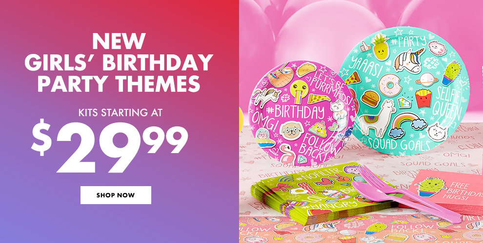 New Birthday Party Themes