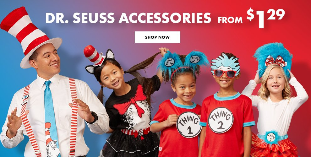 Dr. Seuss Costume Accessories