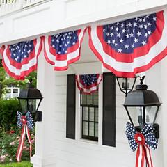 4th of July Bunting and Flags