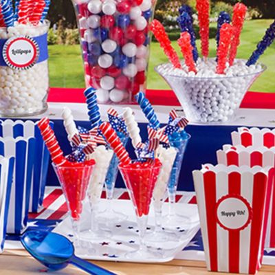 4th Of July Candy Buffet
