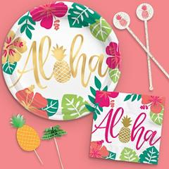 Aloha Hawaiian Party Theme