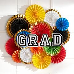 Colorful Brights Graduation Supplies