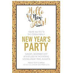 New Year's Invitations