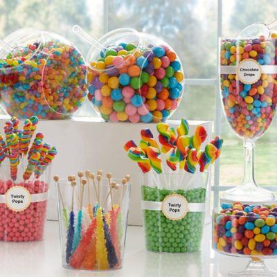 Luau Candy Buffet