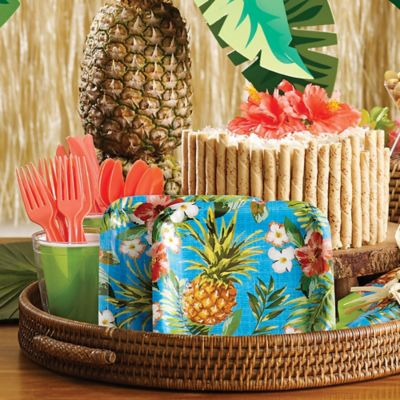 Luau Tableware  sc 1 st  Party City & Luau Party Supplies - Hawaiian Luau Decorations | Party City