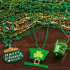 St. Patrick's Day Beads & Jewelry