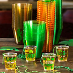 St. Patrick's Day Drinkware: Cups & Glasses
