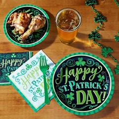 St. Patrick's Day Tableware Themes
