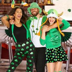 St. Patrick's Day Ties, Suspenders & Kilts