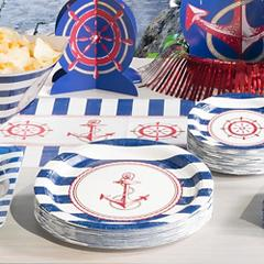Striped Nautical Theme Party