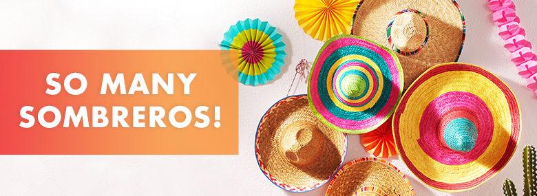 So Many Sombreros!
