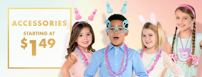 Easter Accessories starting at 99&cent