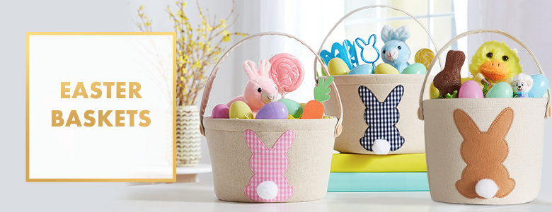 Easter baskets for kids plush baskets plastic buckets party city easter baskets negle Gallery
