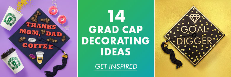 Do it yourself graduation caps party city diy graduation cap ideas solutioingenieria Choice Image