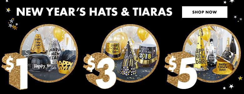$1,3,5 Hats & Tiaras