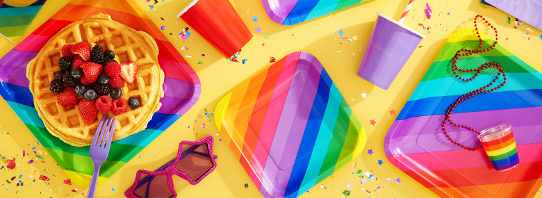 Pride Party Supplies Tableware