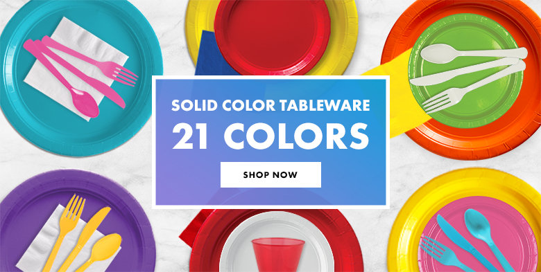 Tableware in 21 Colors Shop Now