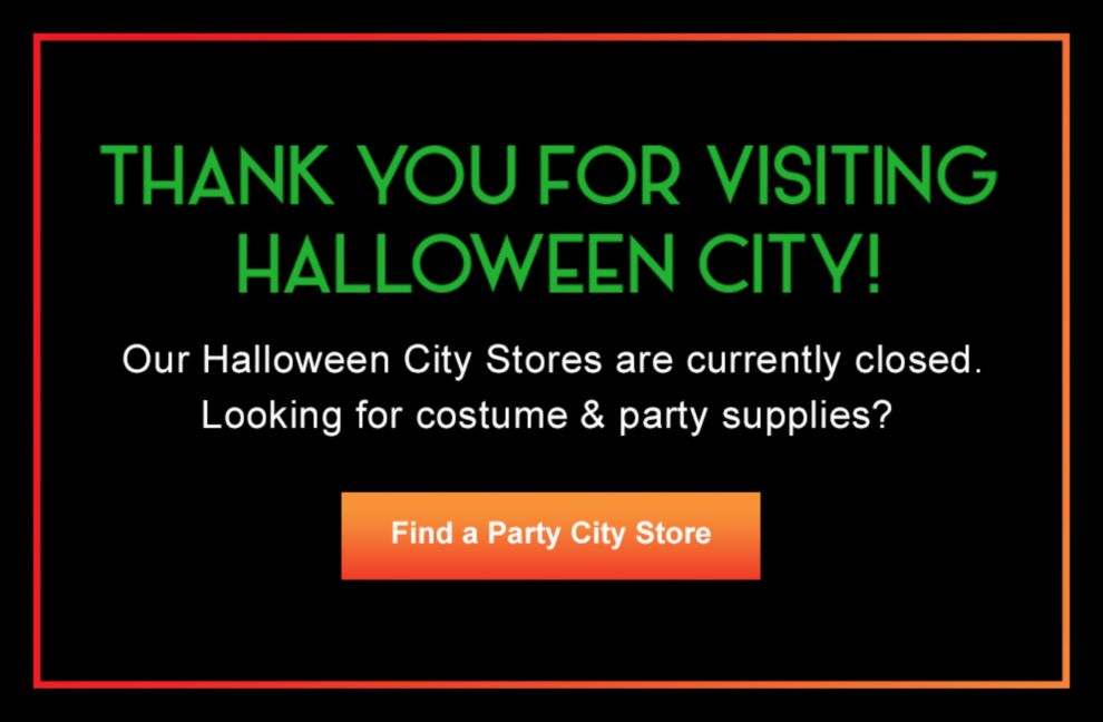 Thank you for visiting Halloween City