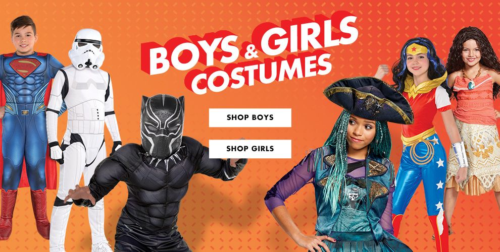 Boys & Girls Costumes
