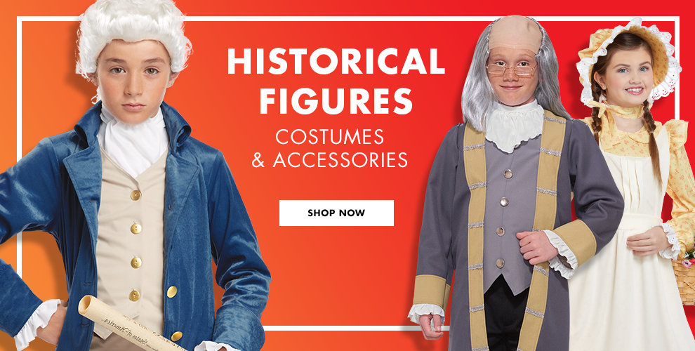 Historical Figures, Colonial Costumes
