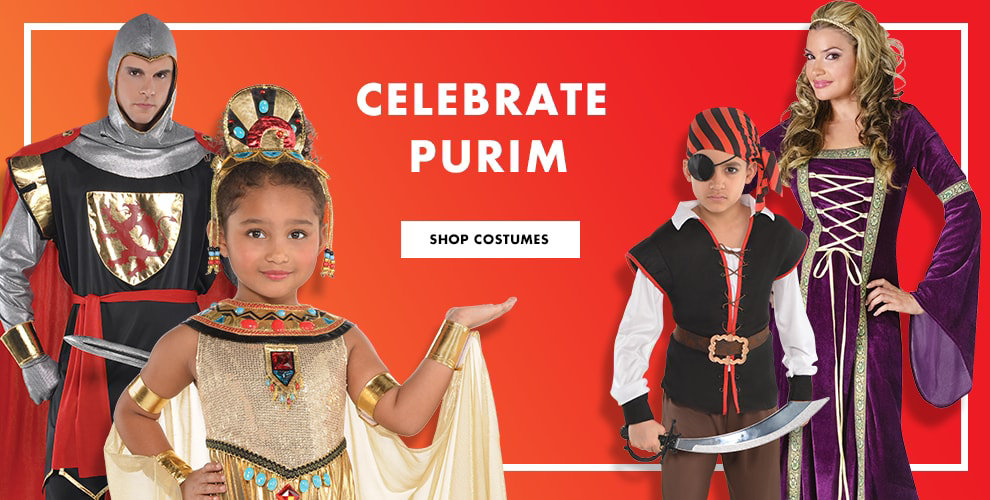 Celebrate Purim! Group Costumes Shop Now