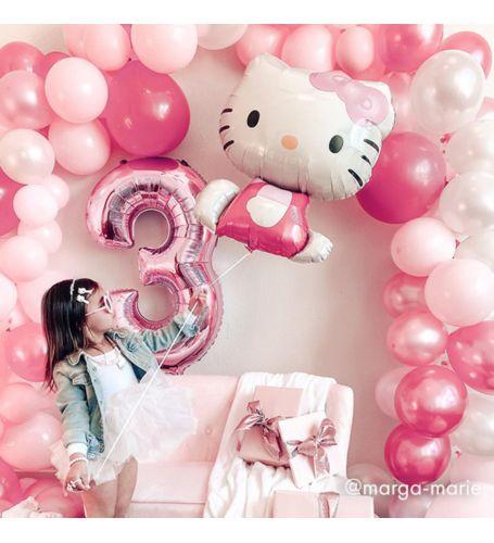 hello kitty pink balloons