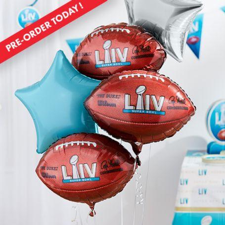Super Bowl balloons
