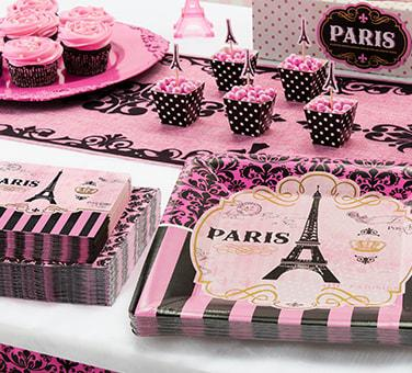 A Day In Paris Party Supplies