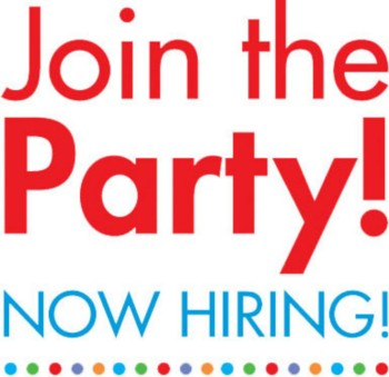 Join the Party! Now Hiring!