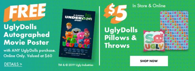 Uglydolls Party Supplies Birthday Decorations Amp Favors