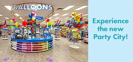 Experience the new Party City!