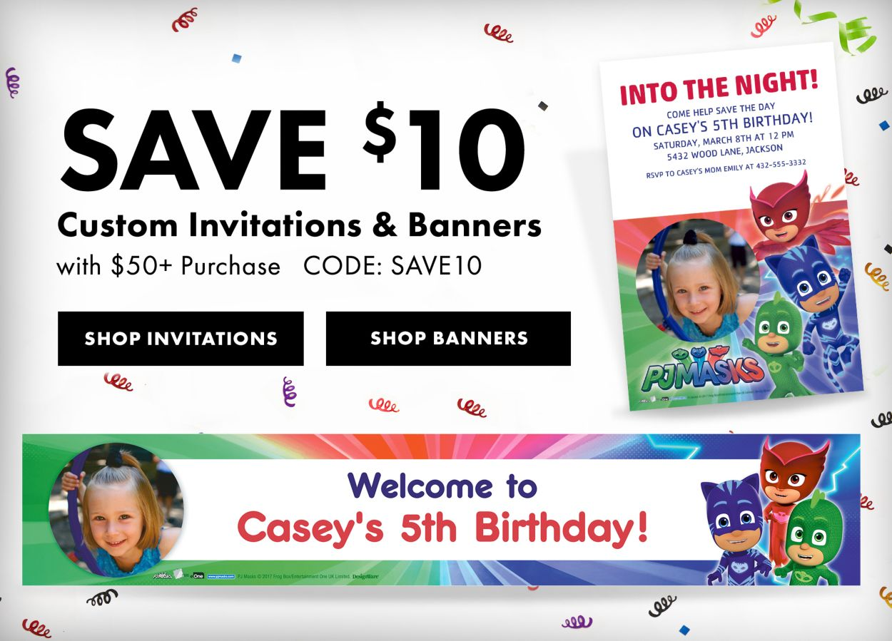 Custom Party Banners | Party City