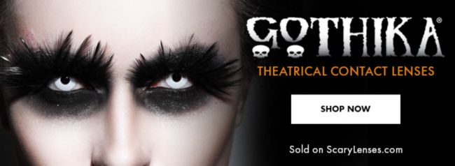 Gothika Theatrical Contact Lenses
