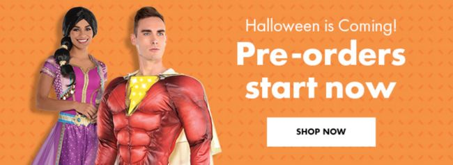 Halloween is Coming! Pre-orders start now.