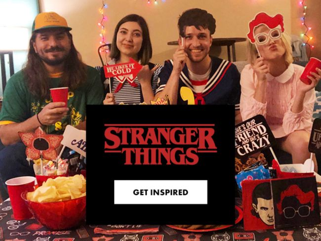 Stranger Things Party Supplies Decorations Halloween Themes Party City