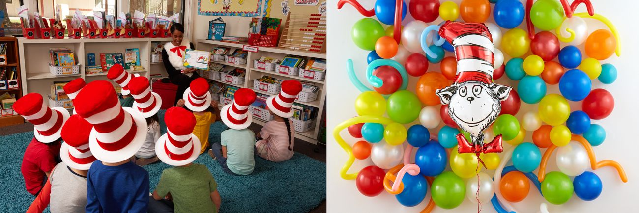 Dr Seuss Cat In The Hat Party Decorations  from partycity1.scene7.com