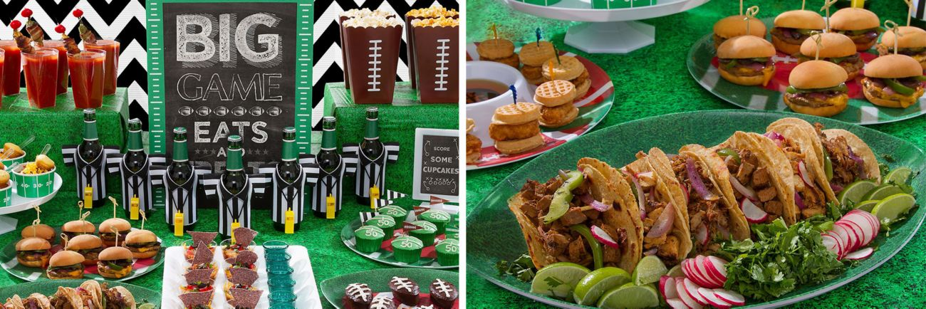 Game Day Football Food Ideas Party City