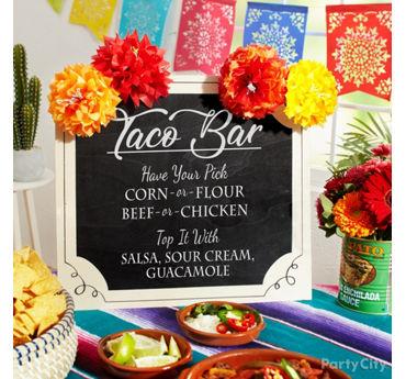 Taco bar inspiration  sc 1 st  Party City & Cinco de Mayo Party Supplies - Cinco de Mayo Decorations   Party City