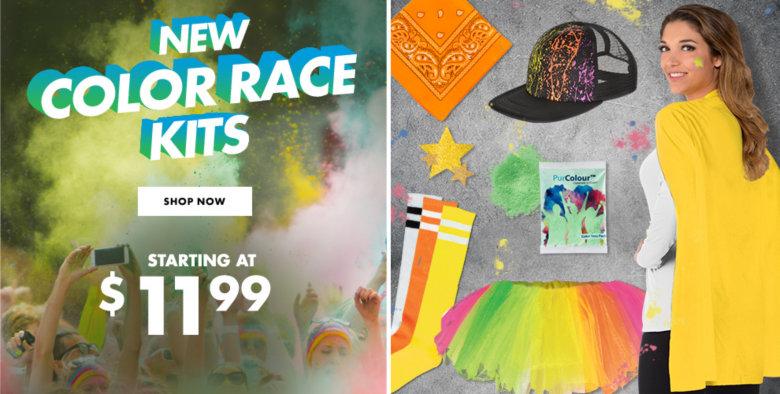 Color Race Kits & Accessories