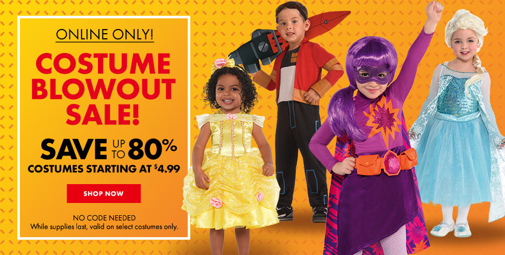 up to 80% off Select Costumes . Shop now!