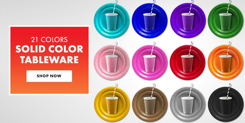 Color Tableware