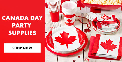 Canada Day Tableware