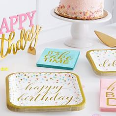 Happy  Birthday Party Supplies