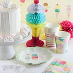 Ice Cream Party Supplies